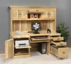 neutral brown wood materials functional desk design collections for home office with useful grest desk cabinet complete with the storage space and amazing