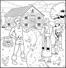 The Prodigal Son Returns Coloring Book Good Treasure Tales