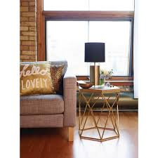 champagne colored coffee table standard furniture santa barbara hexagonal glass top cocktail coffee table ideas