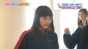 百田夏菜子 髪型 下ろしセミロングぱっつん ベリショ