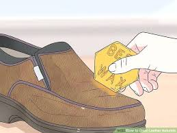 cleaning leather boots with vinegar image titled clean leather naturally step 5 clean leather boots vinegar