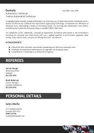 Automotive Technician Resume English homework help online COTRUGLI Business School automotive 53