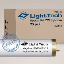 <b>Лампа</b> LightTech - MegaLux HighPower 180-<b>200W</b> 3,3% R Ne/Ar + ...