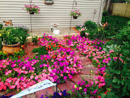 fine gardening. More From Amys Secret Garden In Iowa Fine Gardening As You Can See Our Wave Petunias Took Off