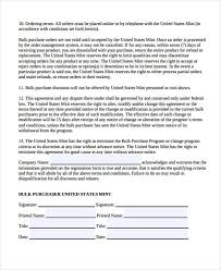 Bulk Sale Agreement Template Sample Purchase Agreement Forms ...