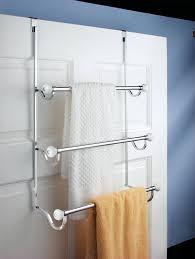 Bathroom Door Rack Towel Racks And Holders For Kitchen And Bathroom
