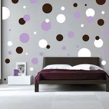 We used 3 different colors of polka dot sheets to create this look