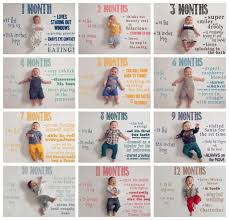 Baby Monthly Pictures Bethesda Md Newborn Baby And Family