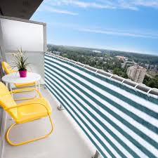 Balcony Fence 236x29 balcony wind sun shield shade privacy fence screen mesh 1792 by xevi.us