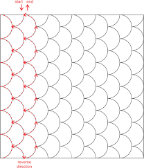 Kathy K. Wylie Quilts – Machine Quilting Practice #2: Clamshells & Continue in this manner until the square is filled with clamshells. Try to  keep your stitches equal in length as you are quilting. When sewing free  motion, ... Adamdwight.com