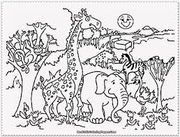 Open any of the printable files above by clicking the image or the link below the image. Zoo Animal Coloring Pages Printable Coloring Home