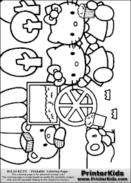 Small Picture 108 best HELLO KITTY COLORING images on Pinterest Hello kitty