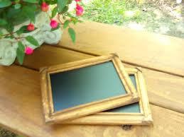 set of 7 wood frames chalkboard rustic wedding table numbers 4x6 vintage rustic wedding decor rustic wood frames