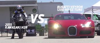 The show has featured a number of epic races, where one of the presenters — jeremy clarkson, richard hammond, james may, and occasionally the stig — drives a car in a race against the others in another form. How Does The World S Fastest Bike Compare To A 1200bhp Bugatti Veyron Super Sport
