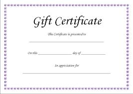 Plain Gift Certificate Template Teeth Whitening Gift Certificate Template Gift Certificate Template