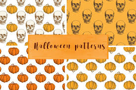 Halloween Pattern Magnificent 48 Awesome Halloween Patterns And Templates