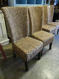 water hyacinth dining chairs a175 114 ea 21 5 w x 18 d x