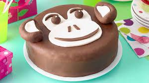 Recipe Chocolate Chimp Birthday Cake Sainsburys