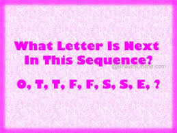 What Letter Is Next In This Sequence 400x300