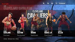 Cleveland Cavaliers NBA 2K21 Roster ...
