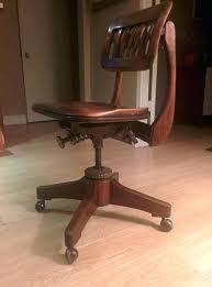 bankers office chair full image for vintage oak school desk chair vintage wood swivel office chair