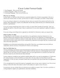 cover letter writing guide cover letter format guide first ...