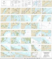 Noaa Small Craft Book Chart 14846 West End Of Lake Erie From Perrysburg Oh Of The Maumee R To Huron R Mich And Bar Pt Ont Book Of 34