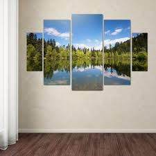 amazing chic lake wall art interior designing home ideas trademark fine maix by philippe sainte laudy 5 panel house district tahoe rules superior