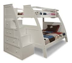 Built In Bed Plans Bunk Bed With Steps Loft Bunk Beds With Desk And Stairs Bunk