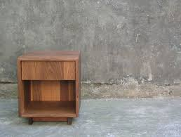wooden bedside table. Concealing Clutter Is A Positive Side Effect Of Having Proper Bedside Table. Here\u0027s Our Roundup 12 Modern Wood Tables, Drawers Included. Wooden Table