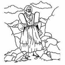 Small Picture Moses Coloring Pages Free Printables MomJunction