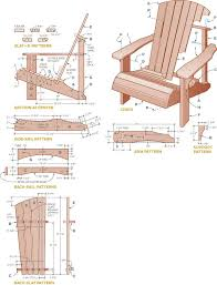 adirondack chair plans. Exellent Plans Picture Of Plans And Materials Throughout Adirondack Chair O
