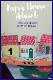 last minute paper houses cut fold and glue for advent saturdays paper houses print cut fold and glue for advent or a darling village the