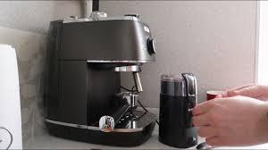 Кофеварка <b>De'Longhi</b> Distinta <b>ECI 341</b> BK Кофемолка Vitek VT 7124