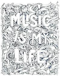 Music Instruments Coloring Pages Musical Instruments Coloring Pages