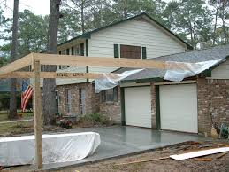 add carport to front of house