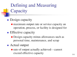 Design Capacity Production And Operations Management Ppt Download