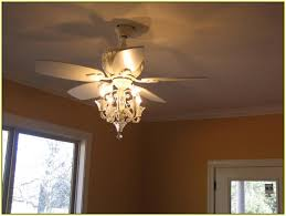 ceiling fan with chandelier attachment