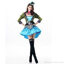 alice crazy hat mad hatter costume makeup party performance uniform women best party costumes a team costume from everything