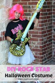diy rock star costume by giggles galore