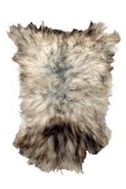fur you get close up and personal to this faux fur rug from french connection