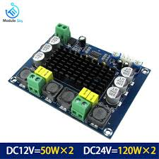 <b>TPA3116D2</b> Audio <b>Bluetooth</b> Amplifier Board Dual channel DC12 ...