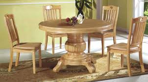 round wooden kitchen table and chairs round wood dining room table sets s throughout set remodel