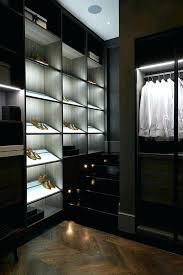 closet lighting led ideas with rods opened shelves drawers and parquet pantry light battery best p