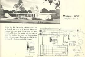 mid century modern house plan beautiful vintage plans 1000 of home for 10