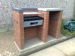 outdoor grill island ideas design built in compact brick plans