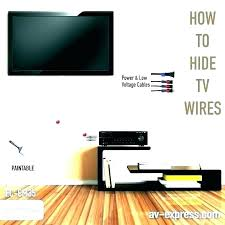 how to hide cable wires along wall on home depot behind cords best way speaker wire why hide your cables
