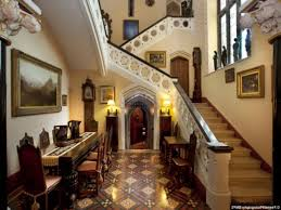 Nice Stair Design And Flooring For Gothic Victorian House Interior - Victorian house interior