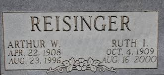 Ruth Iva Armstrong Reisinger (1909-2000) - Find A Grave Memorial