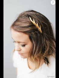 Coiffure Mariage Cheveux Carre Maquillage Mariage